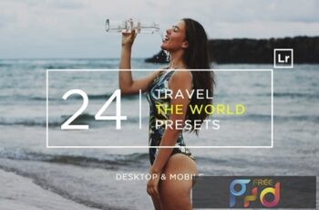24 Travel The World Lightroom Presets + Mobile WDQFCNE 2