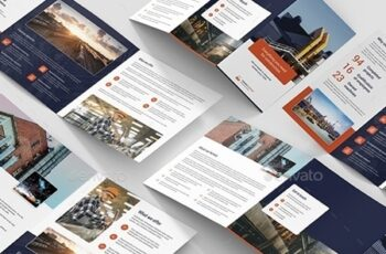 Factory – Brochures Bundle Print Templates 5 in 1 24716470 5