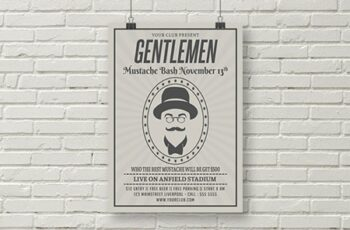 Movember Flyer Template 1831122 5