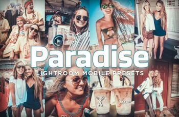 Mobile Lightroom Presets - Paradise 4179468 7