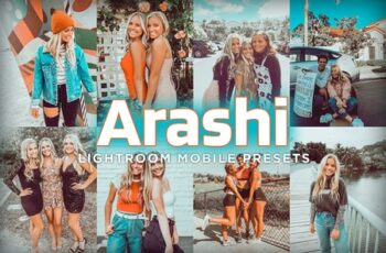 Mobile Lightroom Presets - Arashi 4179474 6