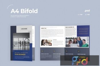 Business Bifold Brochure CPK3VJ5 2
