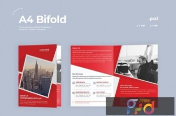 Business Bifold Brochure 5NZSR97 5