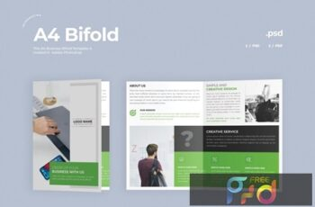 Business Bifold Brochure 6UYPZTQ 5