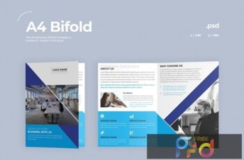 Business Bifold Brochure FGHJKAT 5