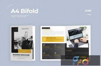 Business Bifold Brochure RMZ5DG8 4