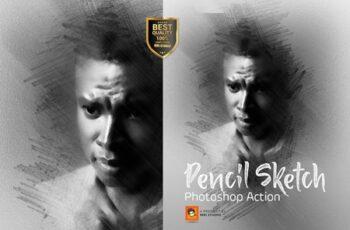 Pencil Sketch Photoshop Action 3278234 6