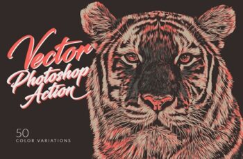 Vector Photoshop Action 4151289 5