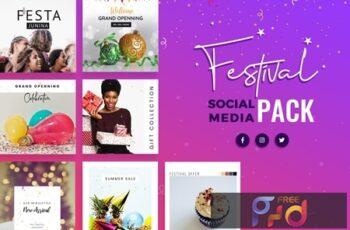 Festival Season Social Media Templates EK4BU9M 6
