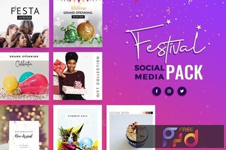 Festival Season Social Media Templates EK4BU9M 1