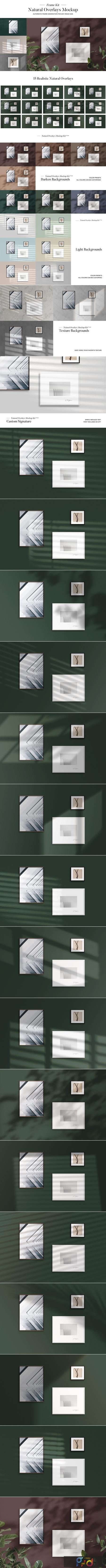 Frame Natural Overlays Mockup Kit 3884858 1