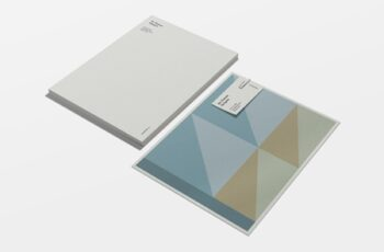 Color Block Stationery Template 4182270 2