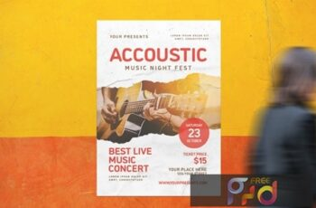 Accoustic Music Flyer GTYCLP2 7