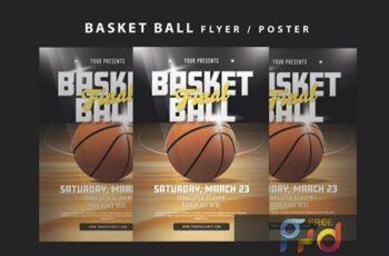 Basketball Flyer F8GVKQW