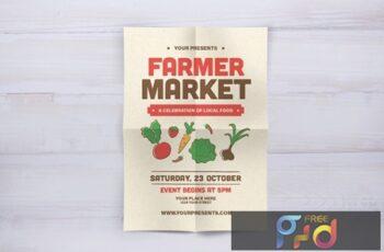 Farmer Market Flyer NA4HJWC 2