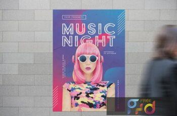 Music Night Flyer 7AUZQBW 7