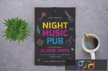 Music Night Pub Flyer 8Y4WAU3 7