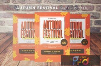 Autumn Festival Flyer 7K39N8X 6
