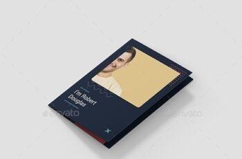 Brochure – Resume Tri-Fold A5 24772483 6