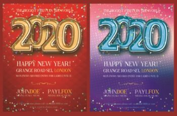 Happy New Year 2020 Poster 1838472