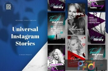 Instagram Stories Universal Banners Pack AZBF345 3