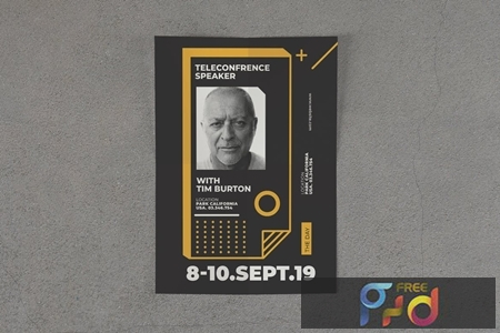 Poster Event Typographic VXS72R9 1