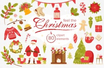 Feel the Christmas 80 Elements 1838720 8