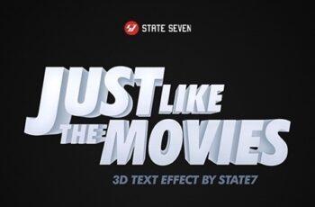 3D Text Effect V2 24590619 3
