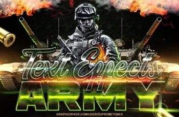Army Photoshop Text Effects 24696024 4