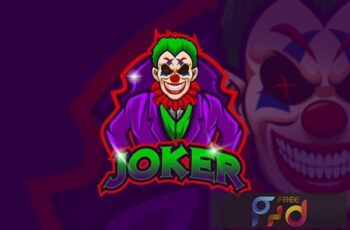 Joker - Mascot & Esport Logo HL59JBN 3