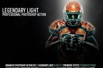 Legendary Light Photoshop Action 24577773 2