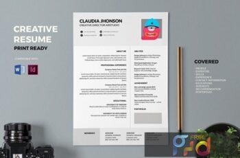 Resume CV Template Pro K9FYVNE 3