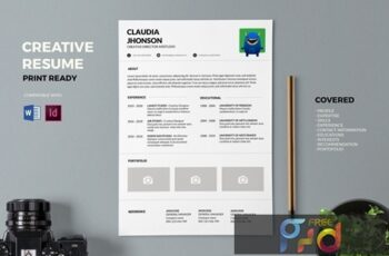 Resume CV Template Pro S8MYJQK 2