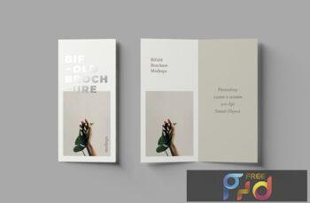 Bifold DL Brochure Mockups WZGK3FU 6