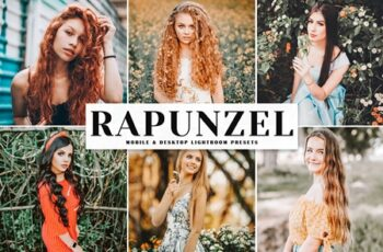 Rapunzel Mobile & Desktop Lightroom Presets NB7LJ9R 4