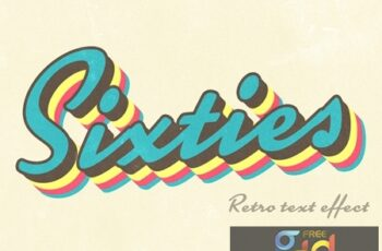 Vintage Sixties-Style Text Effect 293841383 4
