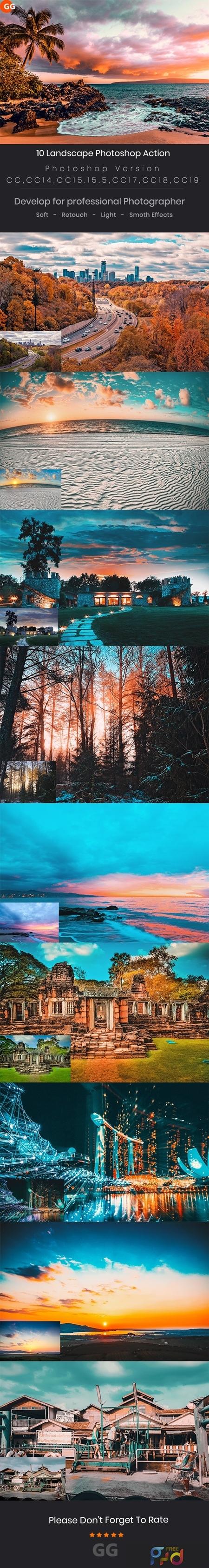 10 Landscape Photoshop Action 24688104 1