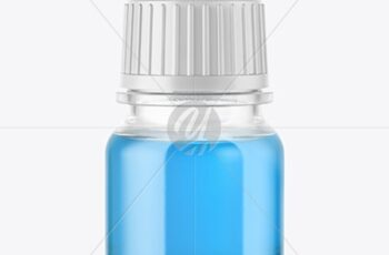 5ml Clear Glass Dropper Bottle Mockup 50393 2