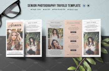 Trifold Photography Brochure - V874 3884576 5