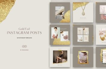 GOLD FOIL - Instagram Posts 3798464 4