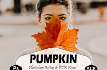 Pumpkin Photoshop Actions and ACR Preset 1881806 5