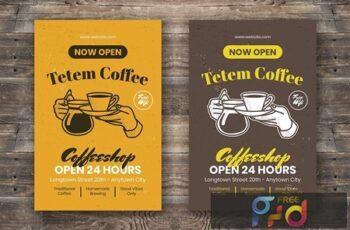 Coffee Flyer DKLCE5E