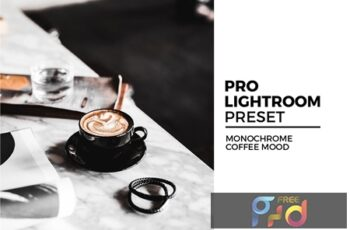 Monochrome Coffee Mood Lightroom Preset GENECDQ 4