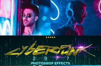 CyberPunk PRO Photoshop Actions 24685287 5