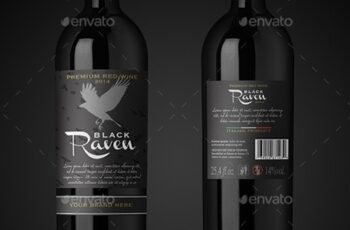 Premium Red Wine Mockup 6711653 8