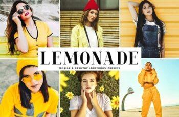 Lemonade Lightroom Presets Pack 4235696 5