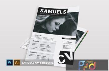 Samuels CV & Resume XYNWQZW 3