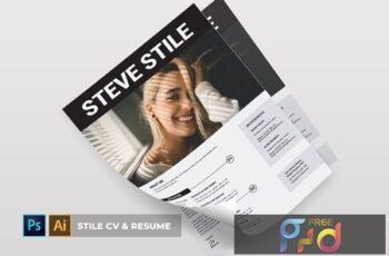 Stile CV & Resume 672M3Z5 4