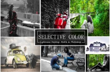 Selective Color - (LR,Mobile& PS PRESET) 1909551 3