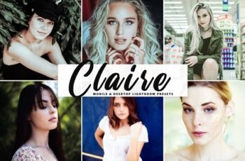 Claire Pro Lightroom Presets 4242097